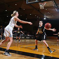Women's Basketball: St. Olaf College Oles vs. Gustavus Adolphus College Gusties