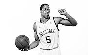 Hillsdale College men's basketball promotional images October 23, 2014.