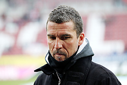 """28.01.2012, SGL Arena, Augsburg, GER, 1. FBL, FC Augsburg vs 1. FC Kaiserslautern, 19. Spieltag, im Bild Trainer Marco KURZ (Kaiserslautern) // during the football match of the german """"Bundesliga"""", 19th round, between FC Augsburg and 1. FC Kaiserslautern, at the SGL Arena, Augsburg, Germany on 2012/01/28. EXPA Pictures © 2012, PhotoCredit: EXPA/ Eibner/ Peter Fastl..***** ATTENTION - OUT OF GER *****"""