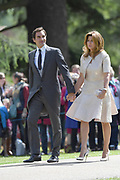 ENGLEFIELD- UK -20th May 2017: <br /> <br /> Pippa Middleton Wedding<br /> <br /> The wedding of Pippa Middleton, sister of Kate, Duchess of Cambridge takes place at St Mark's Church Englefield in Berkshire.<br /> Pippa marries James Matthews. Present at the ceremony were her sister, Kate with Prince William and Prince Harry. Prince George and Princess Charlotte were pageboy and bridesmaids.<br /> ©Ian Jones/Exclusivepix Media