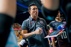 07-07-2017 NED: World Grand Prix Japan - Thailand, Apeldoorn<br /> Second match of first weekend of group C during the World Grand Prix / Coach Sriwacharamaytaku L Danai of Thailand