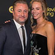 NLD/Amsterdam/20191009 - Uitreiking Gouden Televizier Ring Gala 2019, Dennis Weening en Nicolette Kluijver
