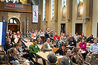 SOESTERBERG -  deelnemers tijdens het Technisch Kader congres 2015 olv Topcoach Koen Gonnissen. COPYRIGHT KOEN SUYK