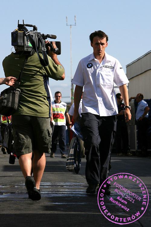 09.06.2007 Montreal, Canada, .Robert Kubica (POL),  BMW Sauber F1 Team  - Formula 1 World Championship, Rd 6, Canadian Grand Prix, Saturday .FOT. XPB.CC / WROFOTO.*** POLAND ONLY !!! ***.NO INTERNET / MOBILE USAGE