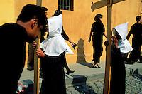 Guatemala, Antigua, Procession de la semaine sainte, Paques // Guatemala, Antigua, Easter, Procession of the Holy week