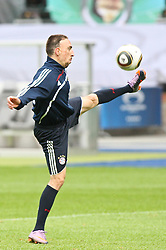 14.05.2010, Olympia Stadion, Berlin, GER, DFB Pokal Finale 2010,  Werder Bremen vs Bayern Muenchen, Training im Bild  .Franck Ribery (FC Bayern München #7) .EXPA Pictures © 2010, PhotoCredit: EXPA/ nph/   Hammes / SPORTIDA PHOTO AGENCY