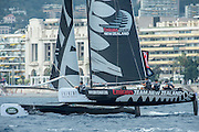 Emirates Team New Zealand. Day four of the Extreme Sailing Series Regatta at Nice. 5/10/2014