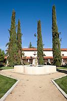 Padre's Garden Water Fountain at Mission San Antonio de Padua, Monterey County, California