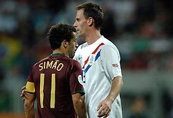 25-06-2006 VOETBAL: FIFA WORLD CUP: NEDERLAND - PORTUGAL: NURNBERG<br /> Oranje verliest in een beladen duel met 1-0 van Portugal en is uitgeschakeld / OOIJER Andre<br /> ©2006-WWW.FOTOHOOGENDOORN.NL