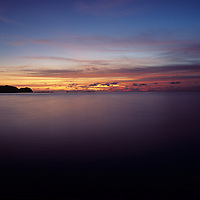 Republic of Palau, Sunset