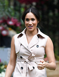 The Duchess of Sussex attends a Creative Industries and Business Reception at the High Commissioner's Residence, Johannesburg. Photo credit should read: Doug Peters/EMPICS