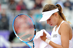 May 20, 2018 - France - Internationaux de tennis de Strasbourg - Magda Linette Pologne (Credit Image: © Panoramic via ZUMA Press)