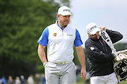 Lee Westwood during the BMW PGA Championship at Wentworth Club, Virginia Water, United Kingdom on 29 May 2016. Photo by Phil Duncan.