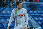 Adam Mekki (Tranmere Rovers) about to take a corner  during the Vanarama National League match between Tranmere Rovers and Grimsby Town FC at Prenton Park, Birkenhead, England on 30 April 2016. Photo by Mark P Doherty.