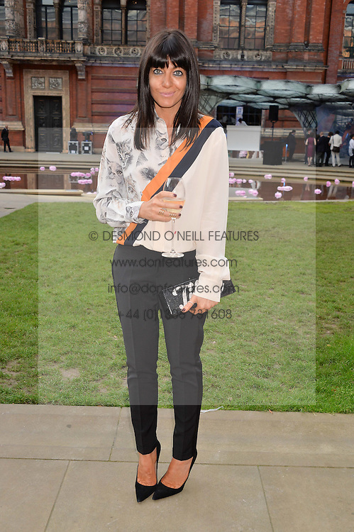 CLAUDIA WINKLEMAN at the V&A Summer Party in association with Harrod's held at The V&A Museum, London on 22nd June 2016.