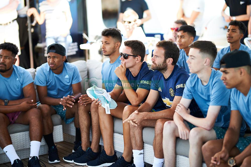 100% authentic e4e49 fd05f Manchester United star Juan Mata and team mates paddle-board ...