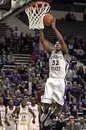 Kansas State forward Deilvez Yearby (32) drives and scores in the second half against North Dakota State, during K-State's 82-56 win over North Dakota State at Bramlage Coliseum in Manhattan, Kansas, January 2, 2006.