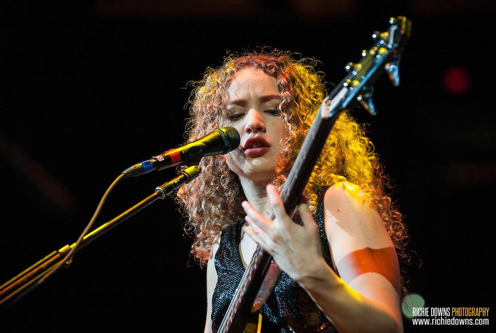 Tal Wilkenfeld performs at Verizon Center in Washington, DC  (Photo Copyright © Richie Downs).