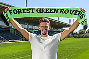 Liam Shephard signs for Forest Green Rovers at the New Lawn, Forest Green, United Kingdom on 27 June 2018. Picture by Shane Healey.