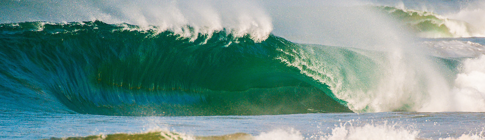 Super hollow tubing wave somewhere in the world