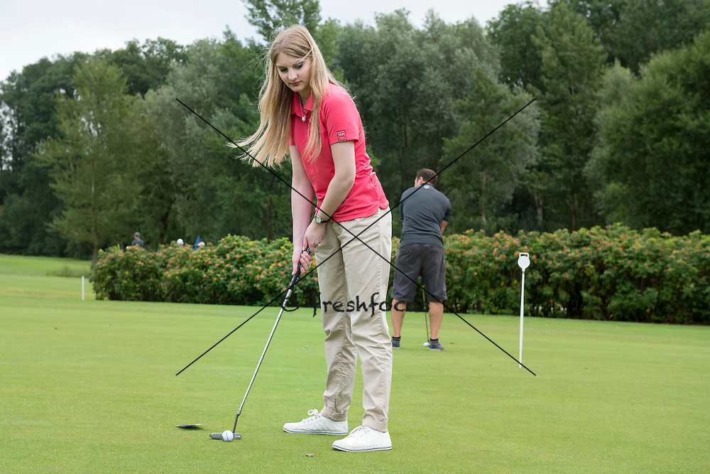 30.07.2014; Luterbach; Eishockey - Swiss Ice Hockey Golf Trophy 2014;<br /> (Claudia Minder/freshfocus)