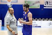 Drake Diener Gennaro Di Carlo<br /> Betaland Capo D'Orlando allenamento precampionato<br /> Lega Basket Serie A 2016/2017 <br /> Capo D'Orlando 02/09/2016<br /> Foto Ciamillo-Castoria