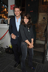 KRIS THYKIER and CLAUDIA WINKLEMAN at at the launch party for Imogen Edwards-Jones's new book Beach Babylon held at Beach Blanket Babylon, Ledbury Road, London on 18th July 2007.<br />