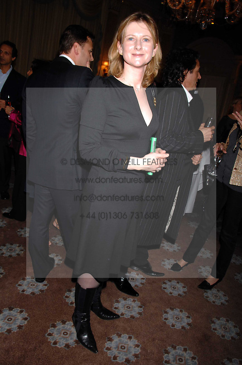 FRANCES OSBORNE at a party to celebrate the publication of Top Tips For Girls by Kate Reardon held at Claridge's, Brook Street, London on 28th January 2008.<br /><br />NON EXCLUSIVE - WORLD RIGHTS