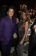 PETER ANDRE AND JORDAN, Andy and P{atti Wong host  party to cleebrate then Chinese New Year of the Dog. Royal Courts of Justice. Strand. London. 28 January 2006. © Copyright Photograph by Dafydd Jones 66 Stockwell Park Rd. London SW9 0DA Tel 020 7733 0108 www.dafjones.com