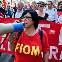 Manifestazione FIOM contro la crisi