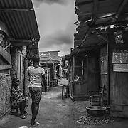 Daily life. John Logan Town, Liberia.