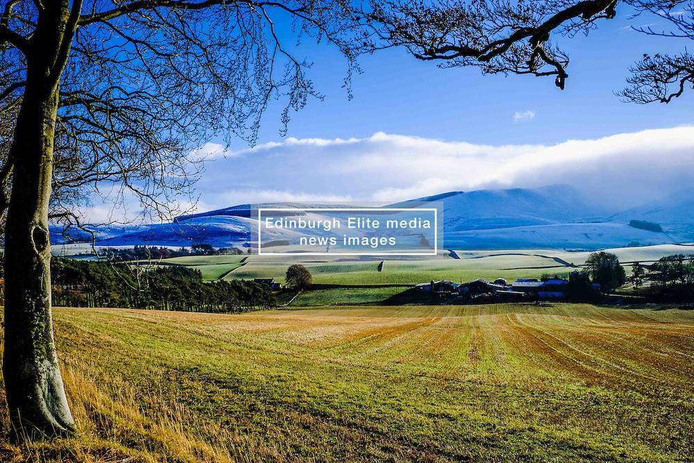 Winter landscape in the Scottish Borders near Broughton<br /> <br /> (c) Andrew Wilson | Edinburgh Elite media
