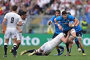 Foto Alfredo Falcone - LaPresse<br /> 14/02/2016 Roma ( Italia)<br /> Sport Rugby<br /> Italia - Inghilterra<br /> Rugby RBS Sei Nazioni - Stadio Olimpico di Roma<br /> Nella foto:Alessandro Zanni<br /> <br /> Photo Alfredo Falcone - LaPresse<br /> 14/02/2016 Roma (Italy)<br /> Sport Rugby<br /> Italy - England<br /> Rugby RBS 6 Nations - Olimpico Stadium of Roma<br /> In the pic:Alessandro Zanni