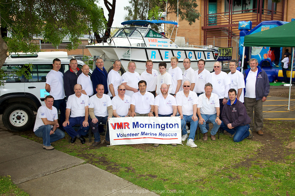 Mornington Volunteer Marine Rescue  , 2010 Members Group photograph