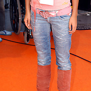 NLD/Rotterdam/20051015 - Kid's Choice Awards 2005, Elize, Playboy riem