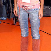 NLD/Rotterdam/20051015 - Kid's Choice Awards 2005, Elize, Playboy riem
