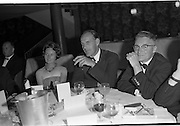 20/08/1962<br /> 08/20/1962<br /> 20 August 1962 <br /> Efficient Distribution Ltd. Dinner at Shelbourne Hotel, Dublin. Image shows Mr J. Sutton.