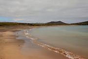 Beach on Floreana Island, part of the Galapagos Archipelago.