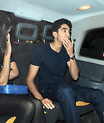 10.MAY.2011. LONDON<br /> <br /> ACTORS DEV PATEL AND FREIDA PINTO LEAVING THE SCOTTS RESTUARANT IN LONDON<br /> <br /> BYLINE: EDBIMAGEARCHIVE.COM<br /> <br /> *THIS IMAGE IS STRICTLY FOR UK NEWSPAPERS AND MAGAZINES ONLY*<br /> *FOR WORLD WIDE SALES AND WEB USE PLEASE CONTACT EDBIMAGEARCHIVE - 0208 954 5968*