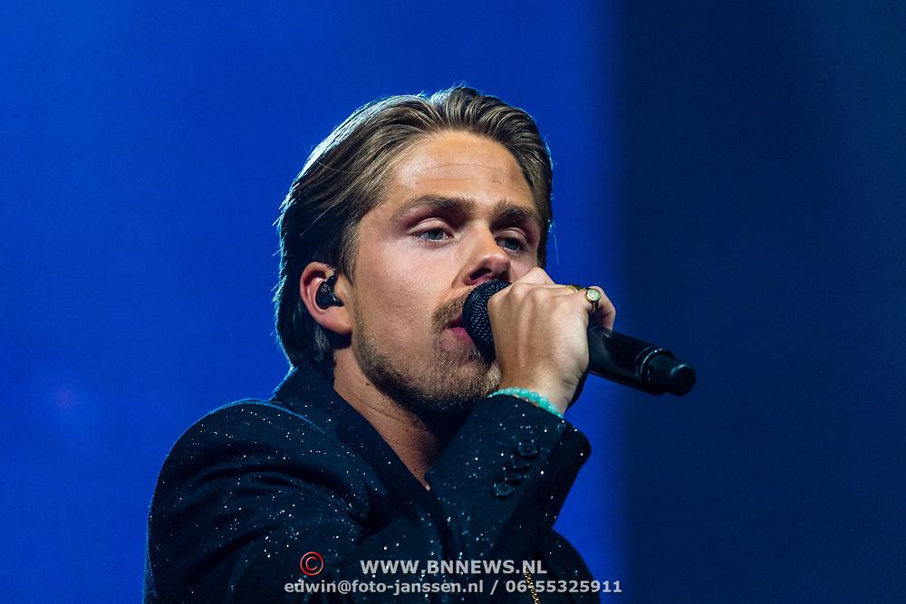 NLD/Amsterdam/20170317 - Holland zingt Hazes 2017, Dre Hazes Jr.