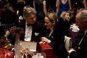 Arnaud Bamberger;  Princess Zahra Aga Khan; , The Cartier Racing Awards 2008, at the Grosvenor House Hotel. London.  November 17, 2008  *** Local Caption *** -DO NOT ARCHIVE-© Copyright Photograph by Dafydd Jones. 248 Clapham Rd. London SW9 0PZ. Tel 0207 820 0771. www.dafjones.com.