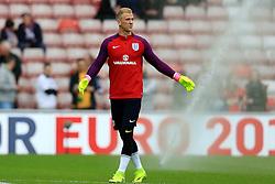 Joe Hart of England - Mandatory by-line: Matt McNulty/JMP - 27/05/2016 - FOOTBALL - Stadium of Light - Sunderland, United Kingdom - England v Australia - International Friendly