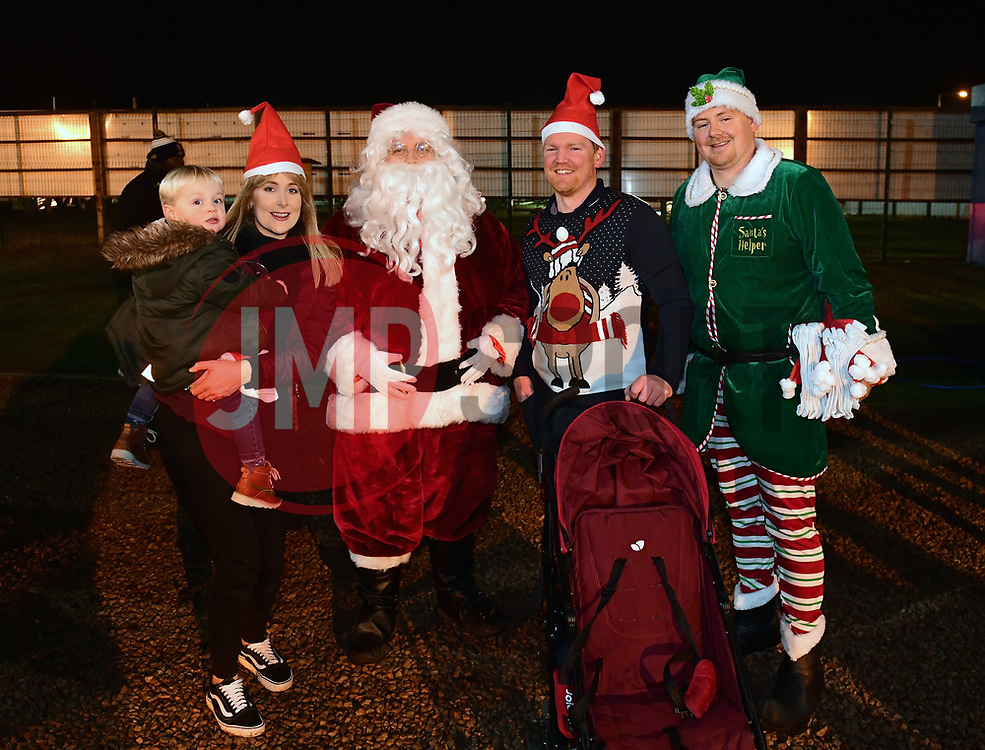 Santa poses for a photo - Mandatory by-line: Alex Davidson/JMP - 22/12/2017 - RUGBY - Sixways Stadium - Worcester, England - Worcester Warriors v London Irish - Aviva Premiership