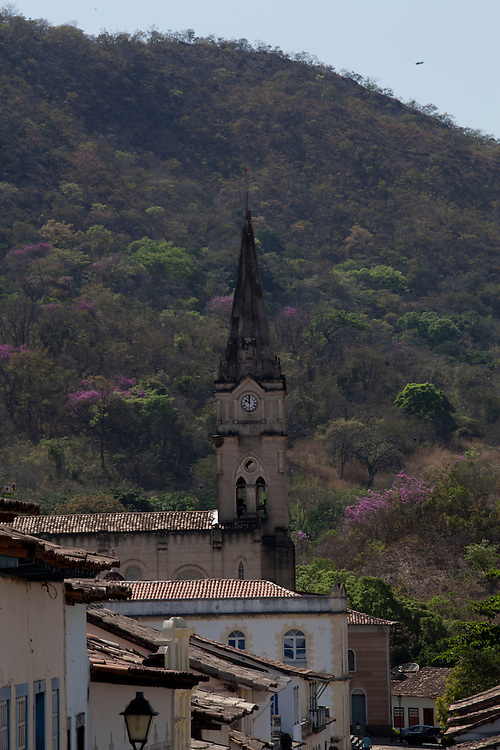 Goias Velho_GO, Brasil...Igreja do Rosario em Goias Velho, Goias...Rosario church in Goias Velho, Goias...Foto: ALEXANDRE BAXTER / NITRO