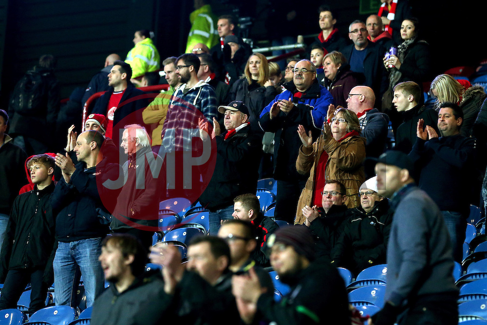 Bristol City fans applaud the players at full time - Mandatory by-line: Matt McNulty/JMP - 10/12/2016 - FOOTBALL - The John Smith's Stadium - Huddersfield, England - Huddersfield Town v Bristol City - Sky Bet Championship