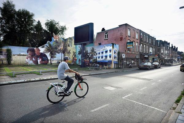 Nederland, Ede, 5-8-2012De kop van de Parkweg. Dit verloederde gebied bij het station wordt binnenkort opgeknapt.Foto: Flip Franssen/Hollandse Hoogte