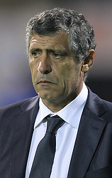07.09.2010, Maksimir Stadium, Zagreb, CRO, UEFA 2012 Qualifier,  Gruppe F,  Kroatien vs Griechenland, im Bild Fernando Santos, head coach of the Greece. ., EXPA Pictures © 2010, PhotoCredit: EXPA/ nordphoto/ Igor Kralj *** ATTENTION *** GERMANY OUT!