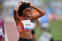 TATE Cassandra USA 400m Hurdles Women <br /> Roma 31-05-2018 Stadio Olimpico  <br /> Iaaf Diamond League Golden Gala <br /> Athletic Meeting <br /> Foto Andrea Staccioli/Insidefoto