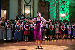 12.01.2018, Hofburg, Wien, AUT, Steirerball, im Bild die Opernsängerin Elisabeth Breuer-Rechberger // during the Styrian Ball in the Hofburg, Vienna, Austria on 2018/01/12, EXPA Pictures © 2017, PhotoCredit: EXPA/ Martin Huber