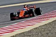 Fernando Alonso of McLaren Honda during the Bahrain Formula One Grand Prix Qualifying session at the International Circuit, Sakhir<br /> Picture by EXPA Pictures/Focus Images Ltd 07814482222<br /> 15/04/2017<br /> *** UK &amp; IRELAND ONLY ***<br /> <br /> EXPA-EIB-170415-0272.jpg